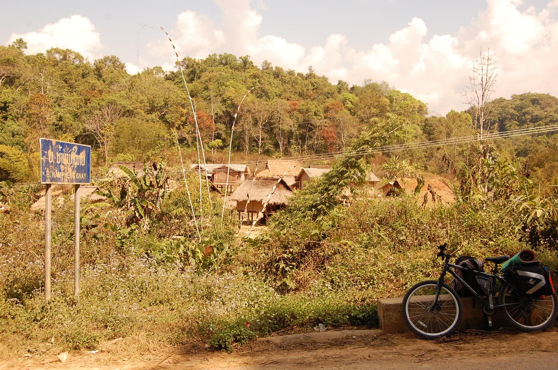 Северный Лаос – город Ботен