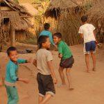 Самое позитивное в Северном Лаосе это дети и их крики Сабайди