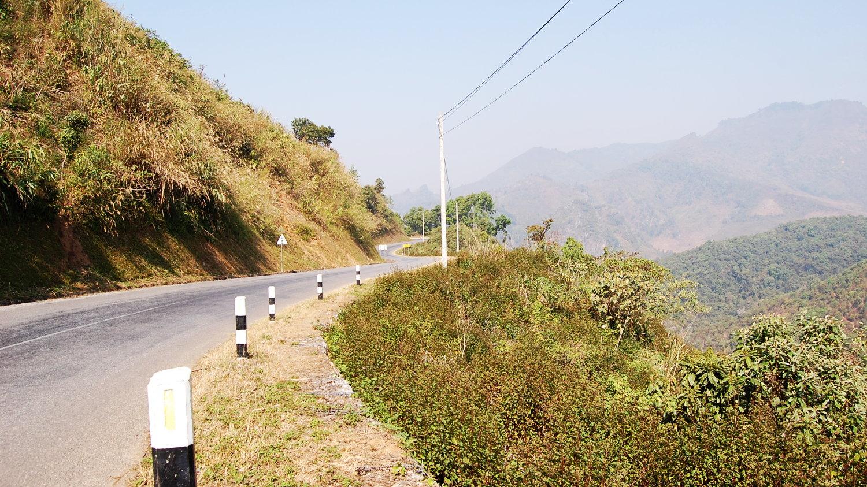Дорога на Kewkacham. Нереально жаркий день