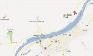 Как проехать к Парку Буд в лаосе