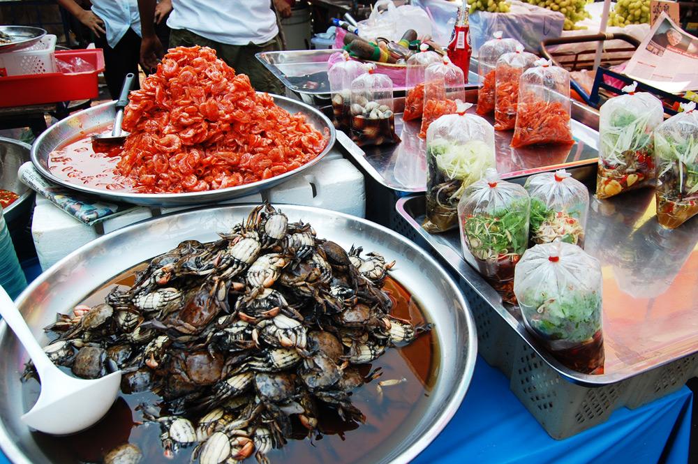 Рынок сифуда в Бангкоке