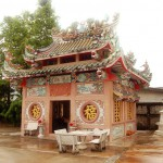 Chainese temple in Trat