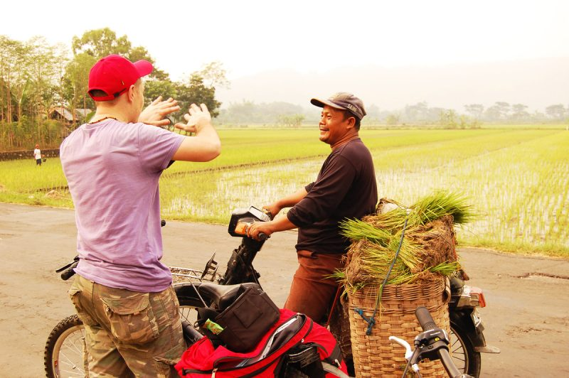 По Индонезии на велосипеде