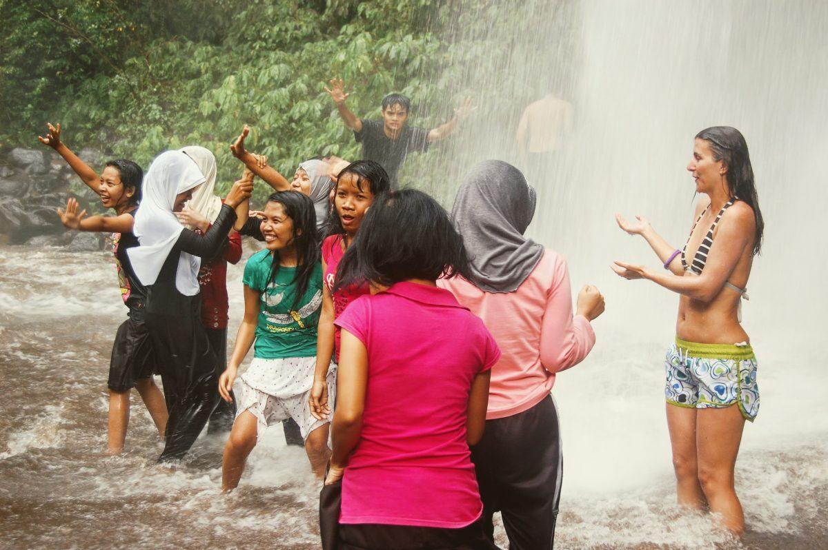 Водопад Сенару Ломбок