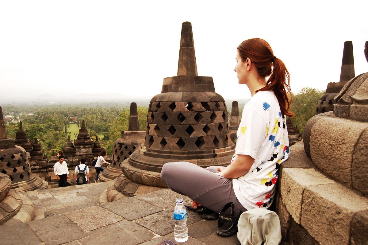 Боробудур - второй по величине буддистский храм в Юго-восточной Азии после Ангко-Вата