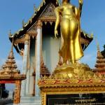 Будда-жена в храме в Банг Сафан Таиланд