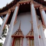 Утром прокатился по городу и посетил буддистские храмы в Банг Сафан Таиланд