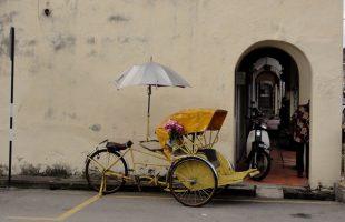 Джорджтаун город на острове Пенанг со смешением множества культур