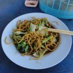 Уличная еда в Таиланде без мяса