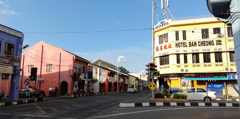 Кангар город на севере Малайзии