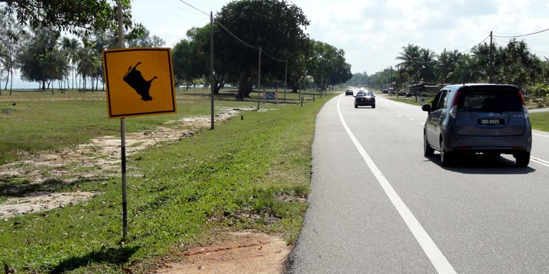 Kuala Besut – Kuala Terengganu (110 км)
