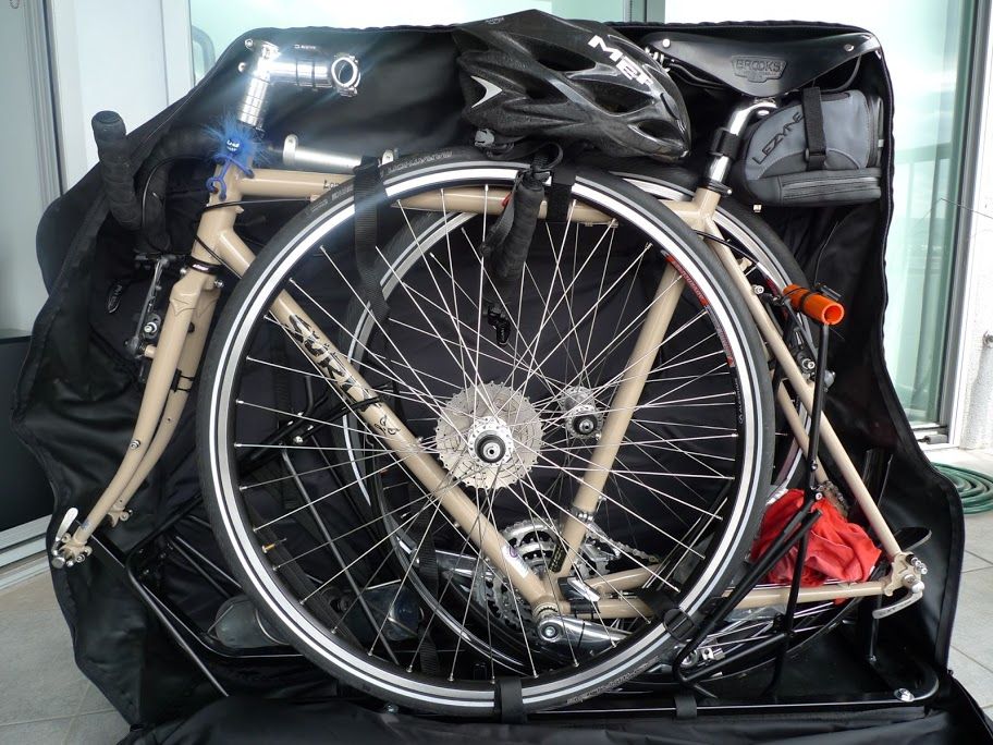 Перевоз велосипеда в самолете