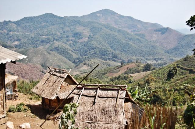 Деревни северного Лаоса