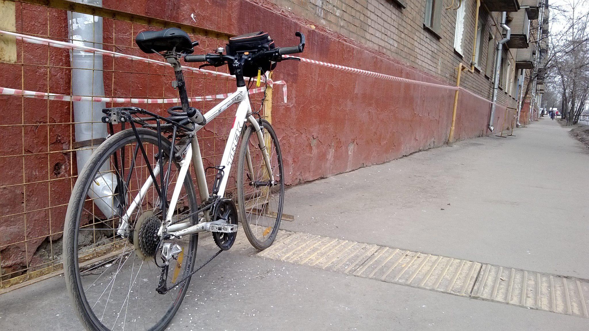На велосипеде по Москве - Ховрино