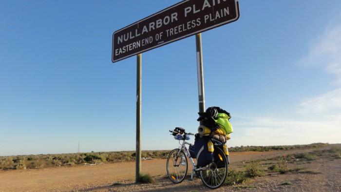 на велосипеде по Австралии