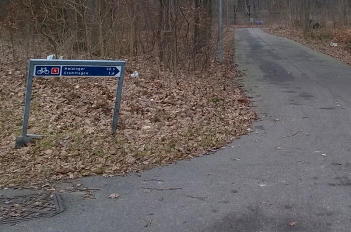 helsingor-bike-road