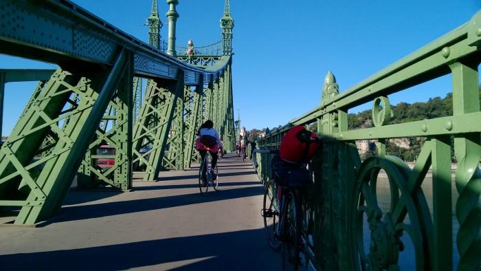 Bridge over Dunabe, Budapest