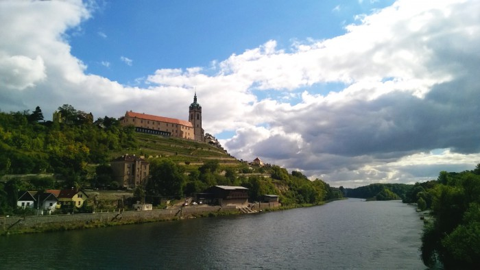 Замок в Мельник на берегу Лебе, Чехия
