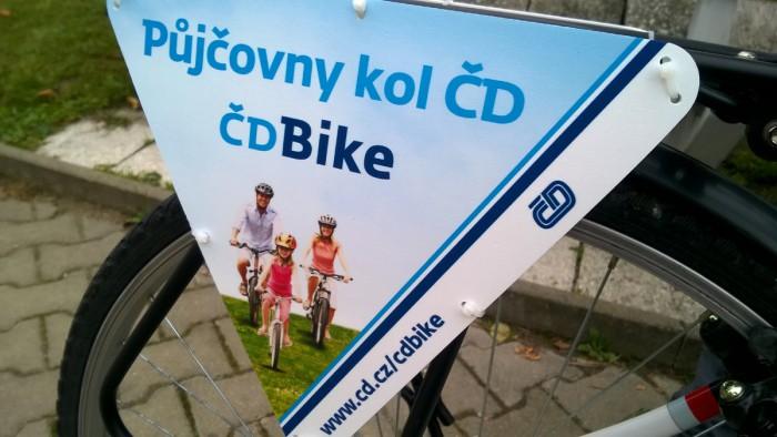 Спонсор этого проекта никакой не банк, а железная дорога Чехии - CD