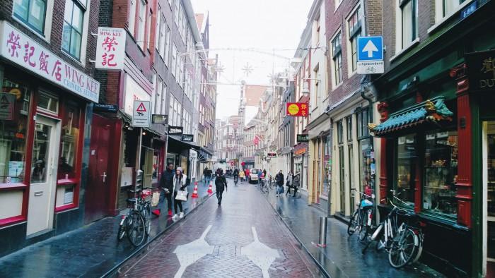 Китайские рестораны и магазинчики в Амстердаме
