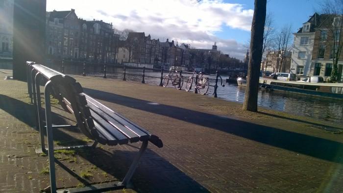 Набережная в Амстердаме