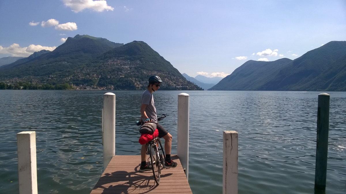 озеро Лугано