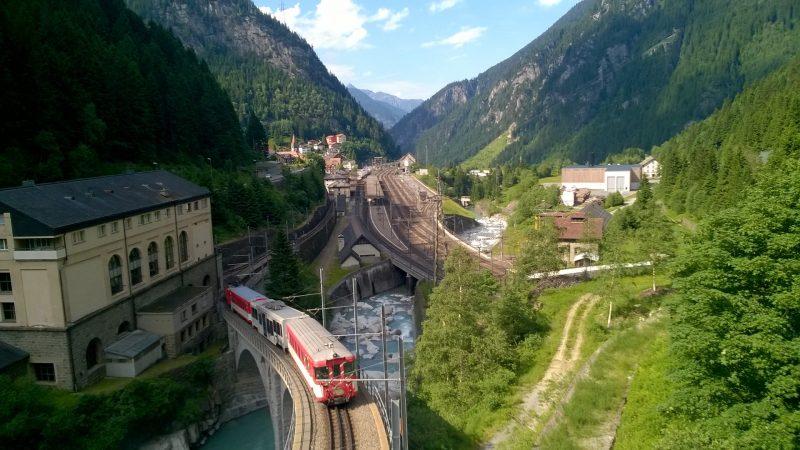 Велопутешествие по Швейцарии и Франции