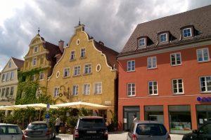 Улочки Меммингена, Бавария