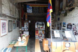 Дворик гостеприимства от местных буддистов