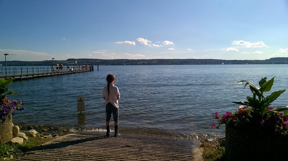 Озеро Констанц и побережье с германской стороны