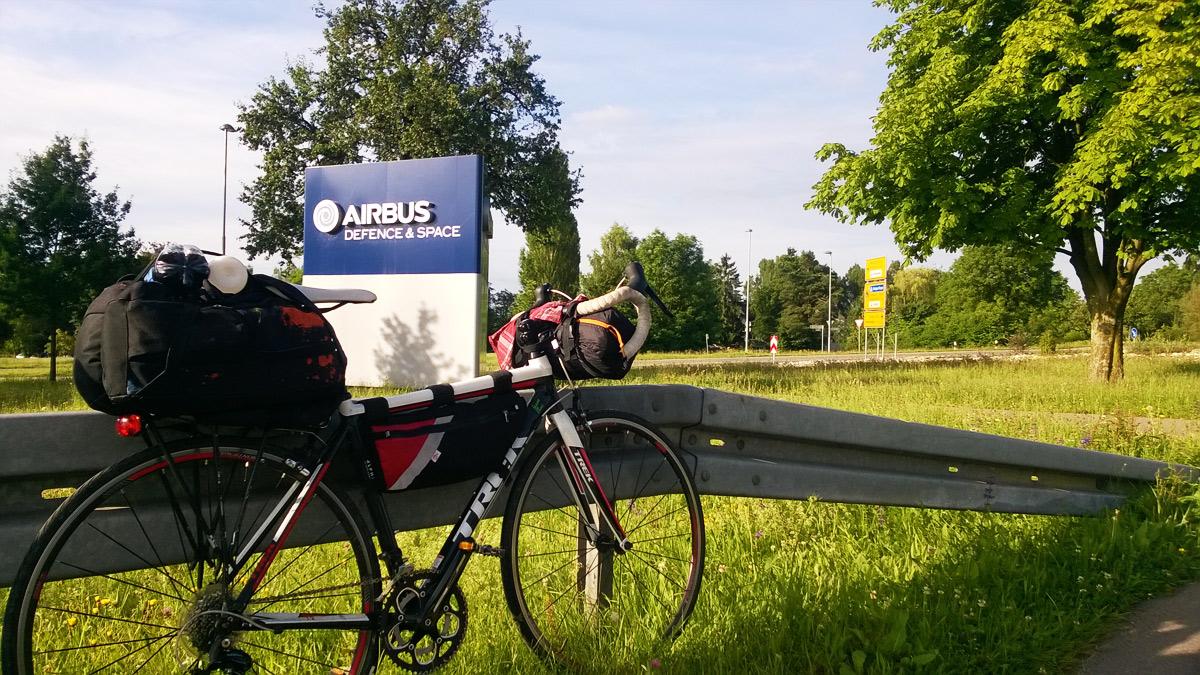 Офис компании Airbus на озере Констанц