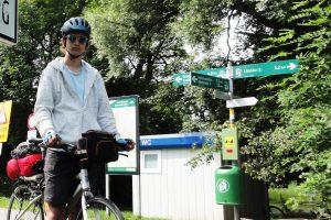 Указатели велодорожек в Австрии
