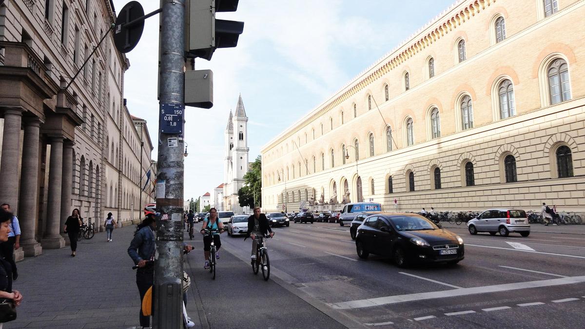 Велодорожки Мюнхена