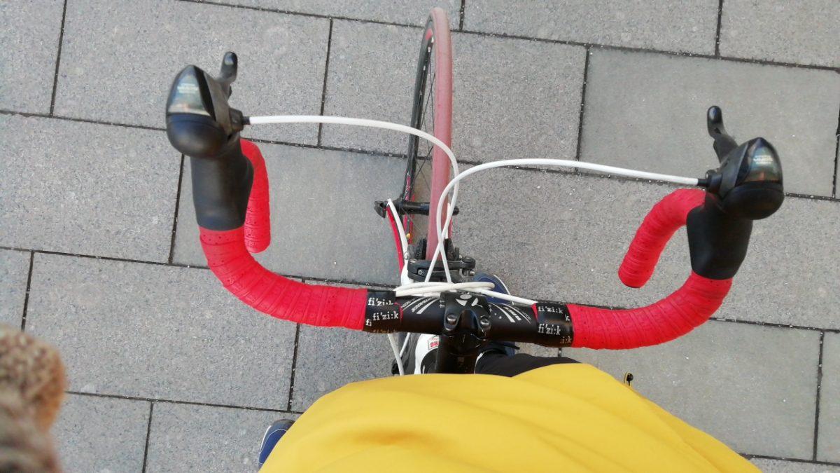 на велосипеде по Москве