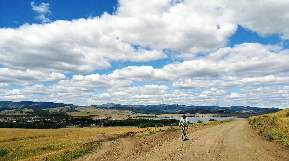 На велосипеде по Башкирии