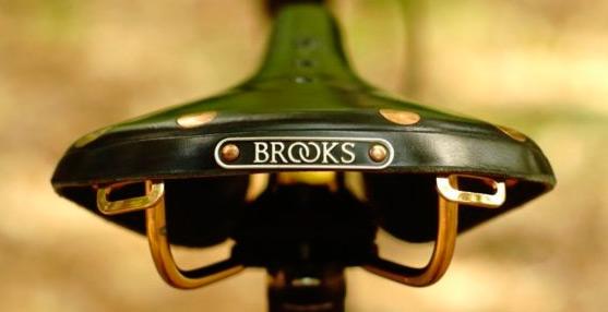 Кожаной велоседло Brooks