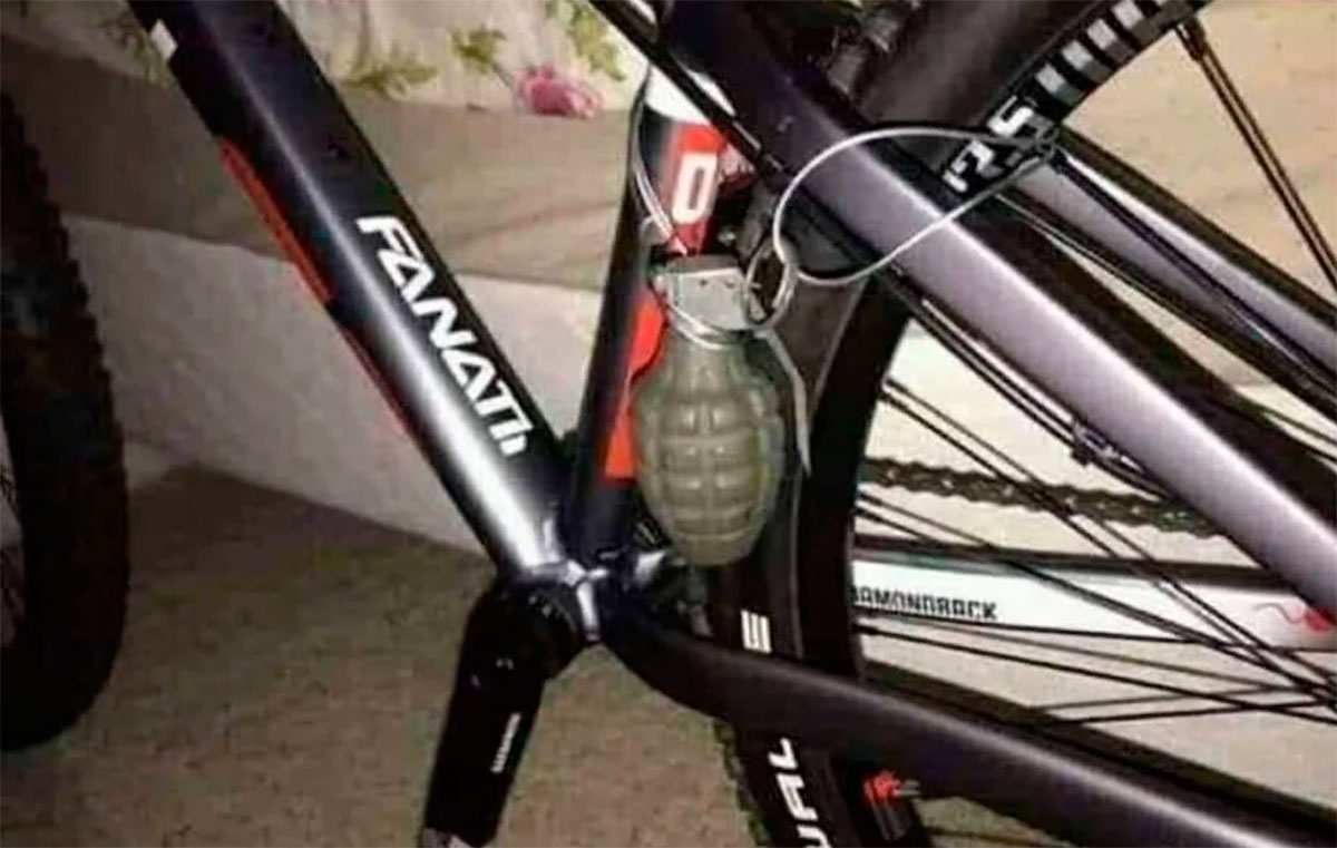 Необычный способ защиты велосипеда от кражи